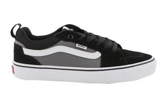Vans Men's Filmore Suede Canvas Shoe (Black/Pewter)