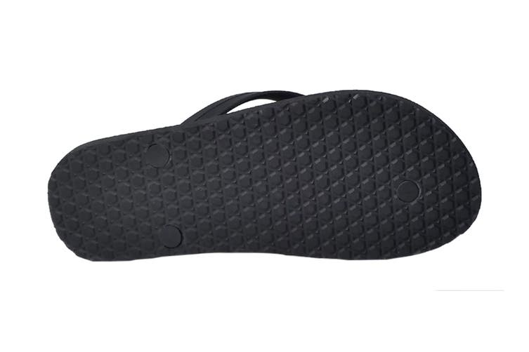 Vans Women's Makena Sandal (Black, Size 6 US)