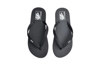 Vans Women's Makena Sandal (Black, Size 8 US)