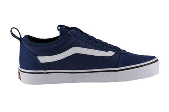 Vans Men's Ward ALT Closure Shoe (Blue/White, Size 9.5 US)