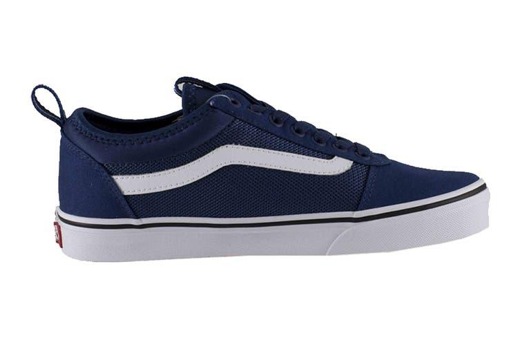 Vans Men's Ward ALT Closure Shoe (Blue/White, Size 9.5 US)