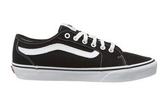 Vans Men's Filmore Decon Canvas Shoe (Black/True White, Size 8.5 US)