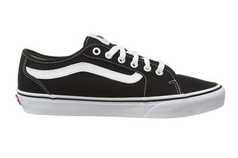 Vans Men's Filmore Decon Canvas Shoe (Black/True White, Size 9.5 US)