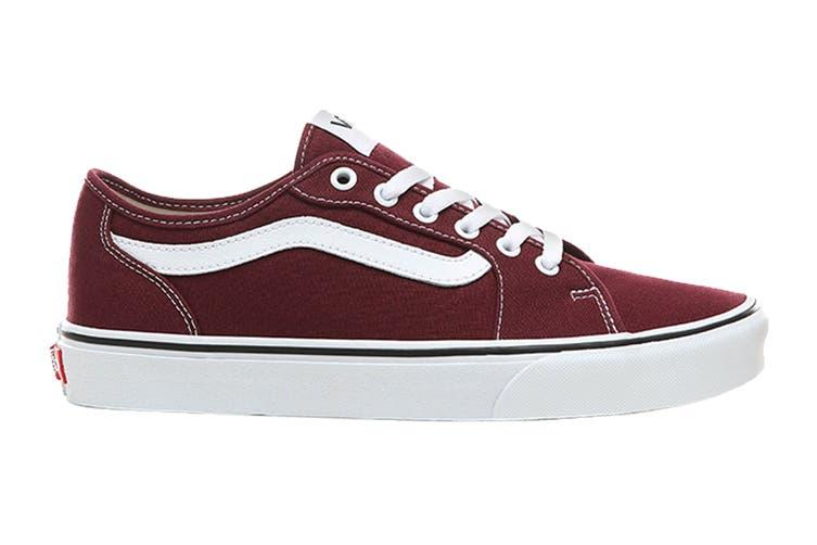 Vans Men's Filmore Decon Canvas Shoe (Port Royale/True White, Size 10.5 US)