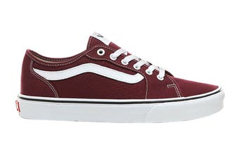 Vans Men's Filmore Decon Canvas Shoe (Port Royale/True White, Size 10 US)