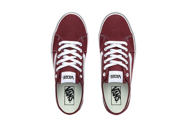 Vans Men's Filmore Decon Canvas Shoe (Port Royale/True White, Size 9 US)