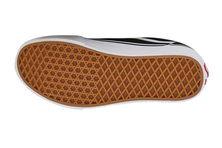 Vans Men's Ward Deluxe Prem Tl Shoe (Black/White, Size 10 US)