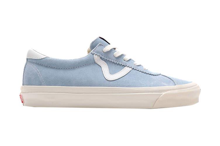 Vans Unisex Style 73 DX Shoe (Light Blue/White, Size 8.5 US)