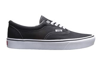 Vans Men's Comfycush Era Classic Shoe (Classic Black/True White)