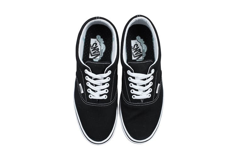 Vans Men's Comfycush Era Classic Shoe (Classic Black/True White, Size 7.5 US)