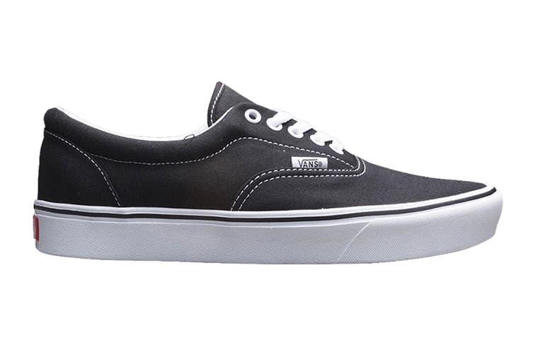 Vans Men's Comfycush Era Classic Shoe (Classic Black/True White, Size 9.5 US)