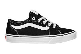 Vans Unisex Filmore Decon Canvas Shoe (Black/True White, Size 6 US)