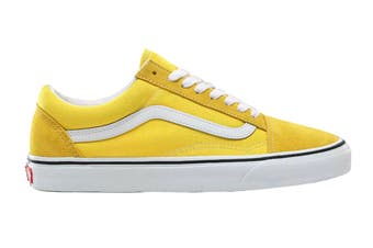 Vans Unisex Old Skool Shoe (Vibrant Yellow/True White)