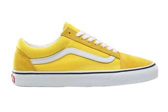 Vans Unisex Old Skool Shoe (Vibrant Yellow/True White)