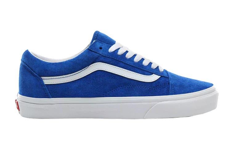 Vans Unisex Old Skool Pig Suede Shoe (Princess Blue/True White, Size 6.5 US)