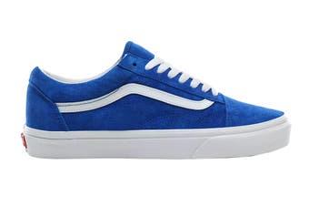 Vans Unisex Old Skool Pig Suede Shoe (Princess Blue/True White)