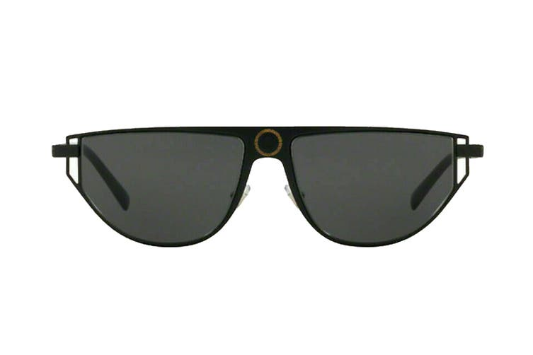 Versace 0VE2213 Sunglasses (Black) - Grey