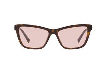 Versace 0VE4354B Sunglasses (Dark havana) - Pink