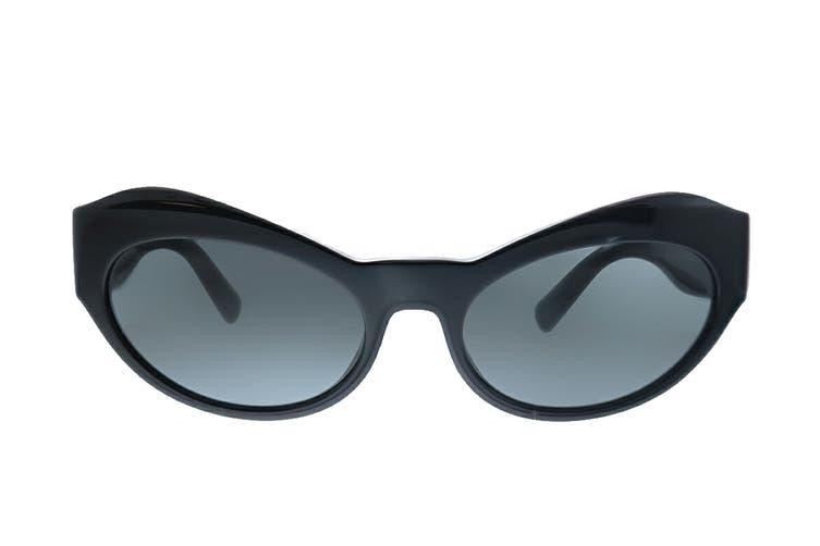 Versace 0VE4356 Sunglasses (Black/Grey) - Grey