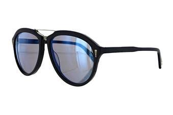 Vilebrequin DASH Sunglasses (Blue Marine, Size O/S) - Blue Mirror