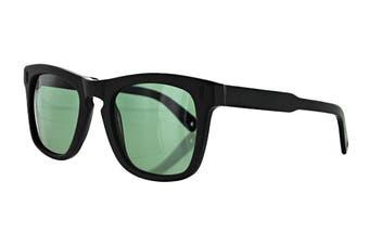 Vilebrequin FUSE Sunglasses (Matte Black, Size 51-22-145) - Green