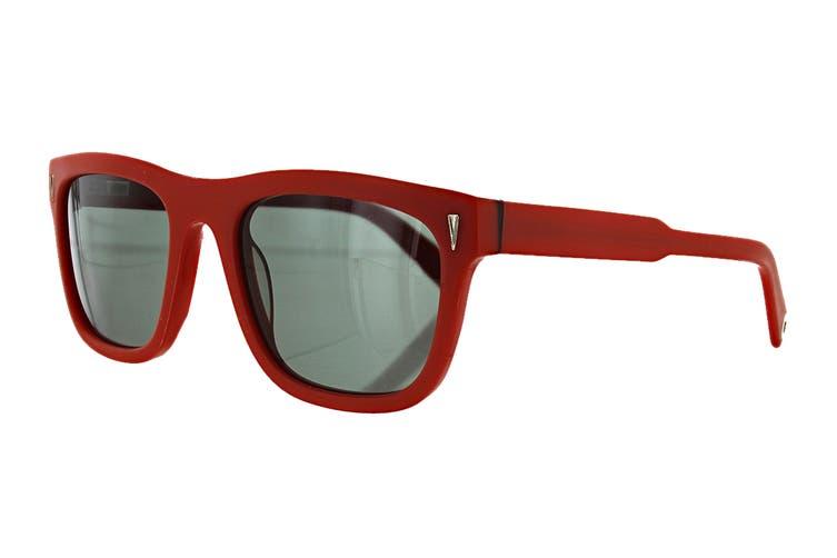 Vilebrequin OCTAN Sunglasses (Red, Size O/S) - Smoke Green