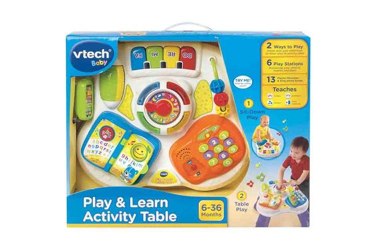 Vtech Play & Learn Activity Table (Purple)