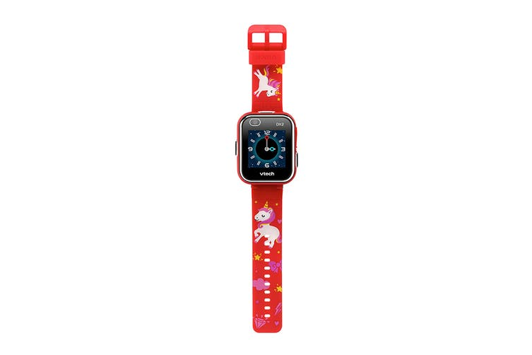 VTech Kidizoom Smartwatch DX2 (Red with Unicorns)