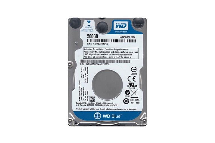 WD Blue 500GB SATA III 2.5-inch Internal Mobile Hard Drive (WD5000LPCX)