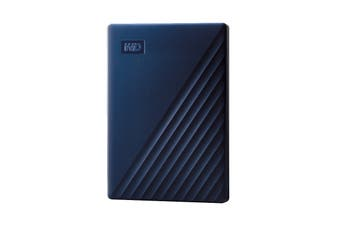 WD My Passport 2TB Portable Hard Drive for MAC - Blue