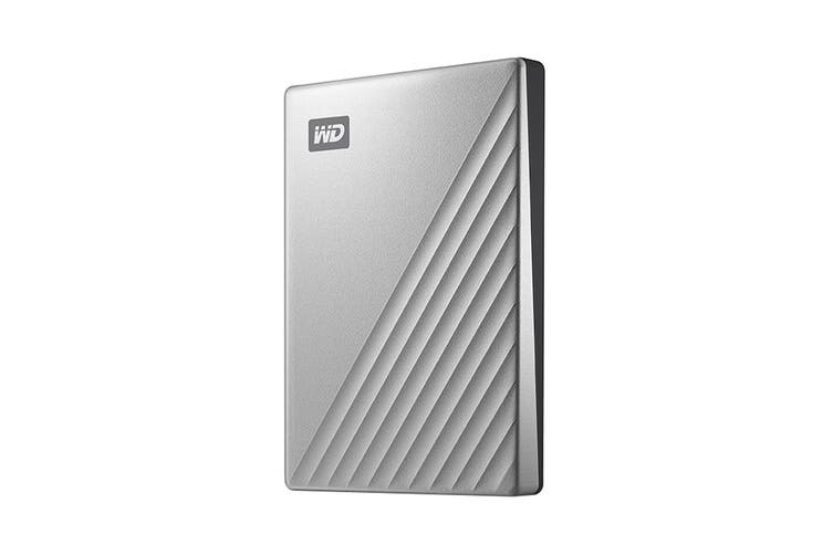 WD My Passport 2TB ULTRA Portable Hard Drive - Silver