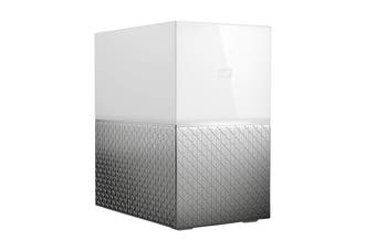 WD My Cloud 4TB Home Duo Personal Cloud Storage (WDBMUT0040JWT-SESN)
