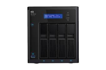 WD My Cloud Expert Series EX4100 16TB NAS Storage Device (WDBWZE0160KBK-SESN)