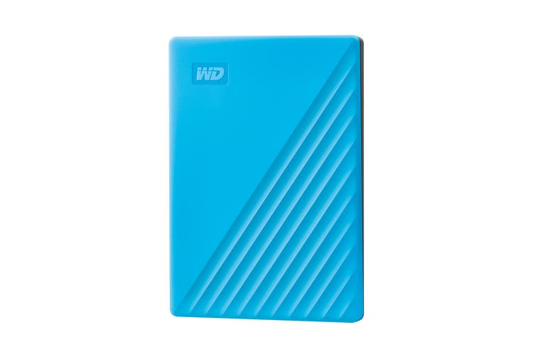 WD My Passport 2TB Portable Hard Drive - Blue (WDBYVG0020BBL-WESN)