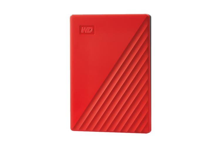 WD My Passport 2TB Portable Hard Drive - Red (WDBYVG0020BRD-WESN)