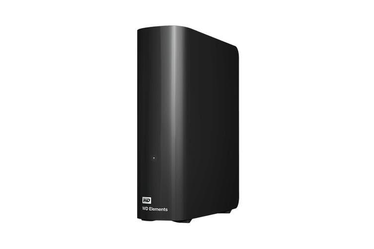 """WD Elements 12TB 3.5"""" USB 3.0 Desktop Storage (WDBBKG0120HBK-AESN)"""