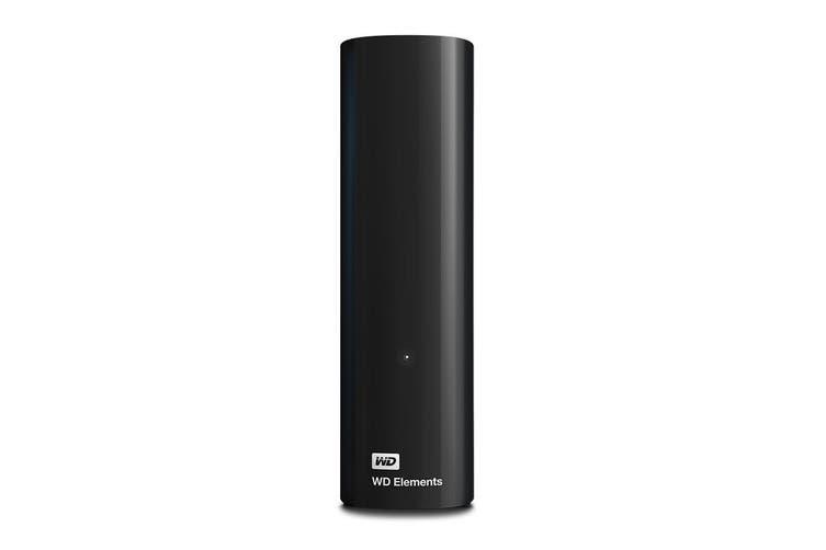 WD Elements 6TB USB 3.0 Desktop Storage (WDBBKG0060HBK-AESN)
