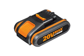 WORX Powershare 20V 2.0Ah MAX Lithium-ion Battery with Battery Indicator (WA3551)