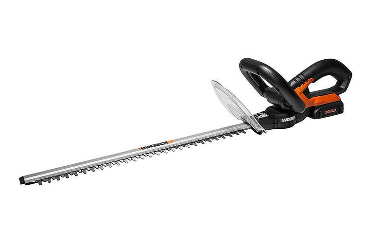 WORX 20V 52cm Hedge Trimmer with Battery and Charger (WG259E)