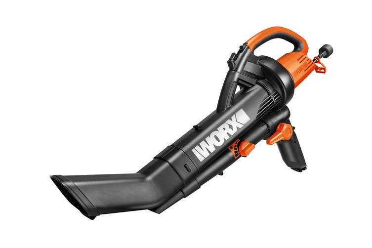 WORX 2400W 3-in-1 Blower Vacuum and Mulcher (WG502E)