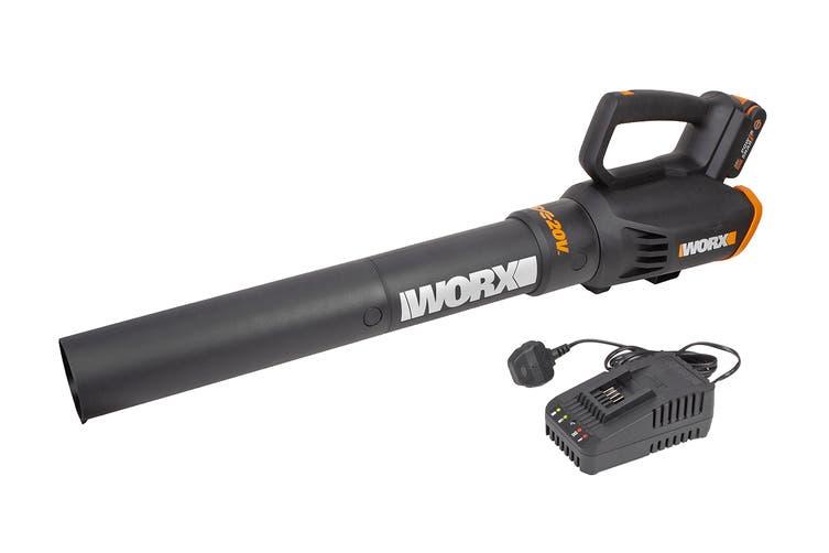 WORX 20V Cordless Turbine Blower (WG547E)