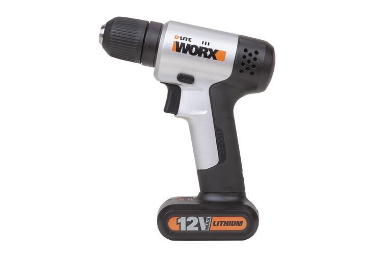 WORX 12V Mini Drill Driver with 17pc Accessory Kit (WX104.2)
