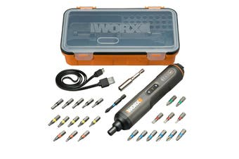 WORX 4V Screwdriver with 24 Piece Kit (WX240)