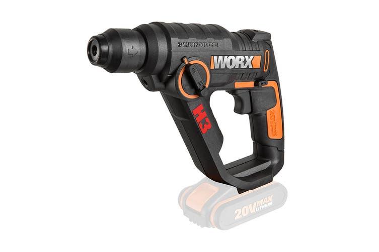 WORX 20V Cordless H3 Rotary Hammer (WX390.9)