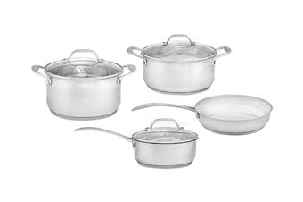 Westinghouse 4 Piece Stainless Steel Pot And Pan Set