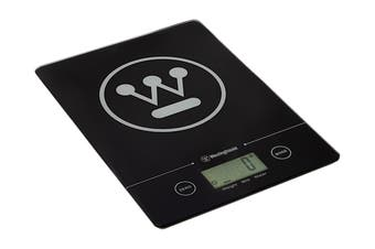 Westinghouse Slimline Digital Kitchen Scales with 5kg Capacity -  Black