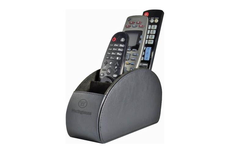 Westinghouse 5 Pocket Remote Control Holder - Black