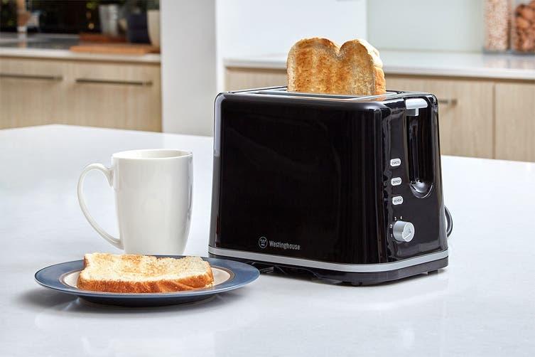 Westinghouse 2 Slice Toaster - Black