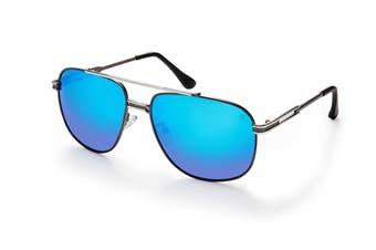 Winstonne Bentley in Gunmetal Polarised Sunglasses (Gunmetal)