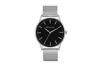 Winstonne Hudson Watch (Silver)